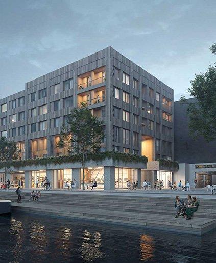 Gewonnen tender Koffiefabriek Amsterdam